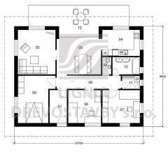 Rodinný domek Lignia 122
