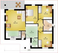 Rodinný domek Lignia 129