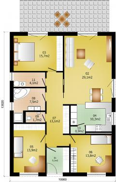 Rodinný domek Lignia 136A