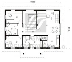 Rodinný domek Lignia 140