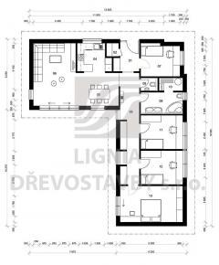 Rodinný domek Lignia 149A