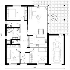 Rodinný domek Lignia 161GT2